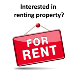 For Rent sign-click here if you are interested in renting property.